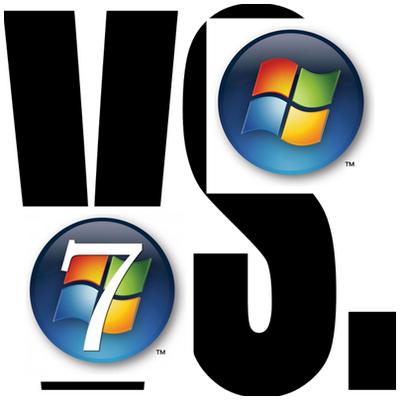 xp-vs-7